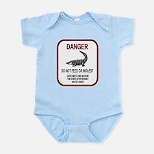Gator Danger Infant Bodysuit