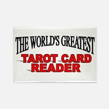 """The World's Greatest Tarot Card Reader"" Rectangle"
