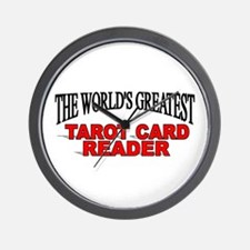 """The World's Greatest Tarot Card Reader"" Wall Cloc"