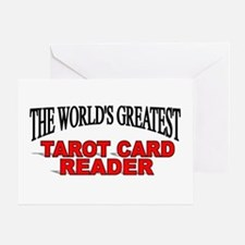 """The World's Greatest Tarot Card Reader"" Greeting"