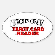 """The World's Greatest Tarot Card Reader"" Decal"