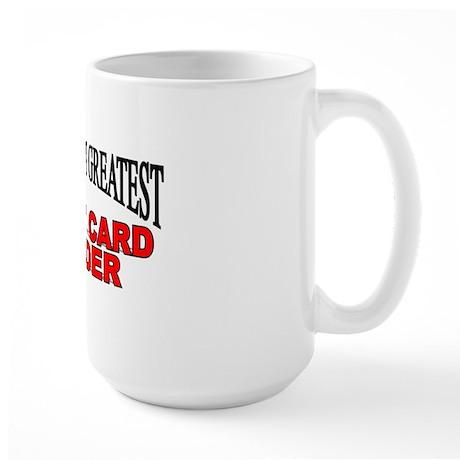 """""""The World's Greatest Tarot Card Reader"""" Large Mug"""