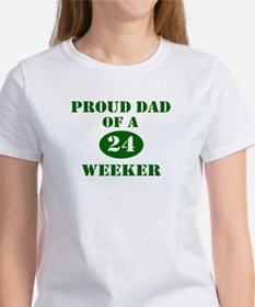 Proud Dad 24 Weeker Tee