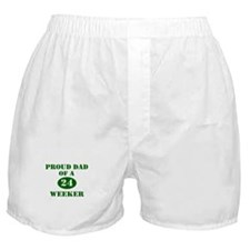 Proud Dad 24 Weeker Boxer Shorts