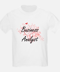 Business Analyst Artistic Job Design with T-Shirt