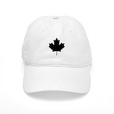 Black Maple Leaf Hat