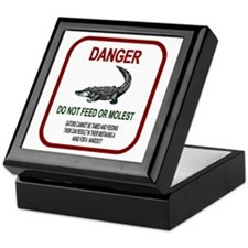 Gator Danger Keepsake Box