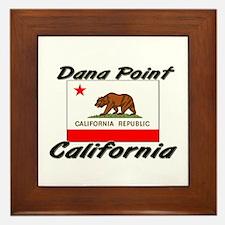 Dana Point California Framed Tile