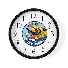 USS Turner (DDR 834) Wall Clock