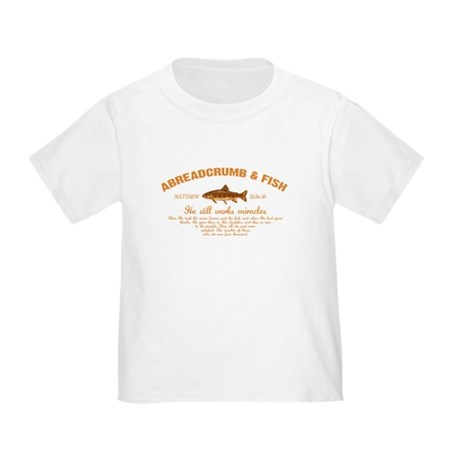 Abreadcrumb & Fish Toddler T-Shirt