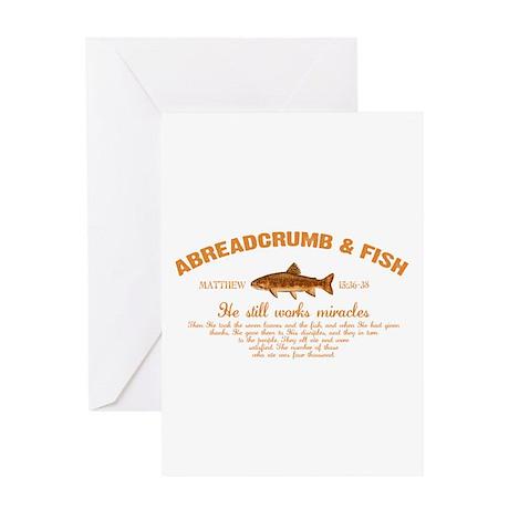 Abreadcrumb & Fish Greeting Card