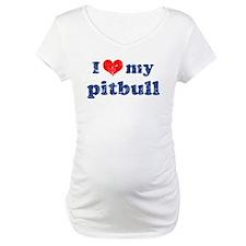 I love my Pitbull Shirt