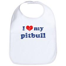I love my Pitbull Bib