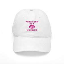 Proud Mom 24 Weeker Baseball Cap