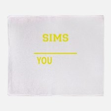 SIMS thing, you wouldn't understand! Throw Blanket