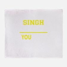 Unique Singh Throw Blanket