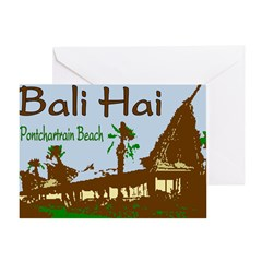 New Orleans Bali Hai Art Greeting Card