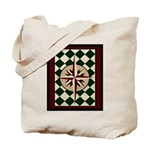 Mariner's Compass Tote Bag