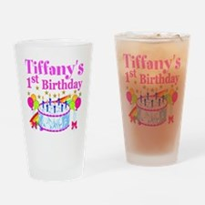 PERSONALIZED 1ST Drinking Glass