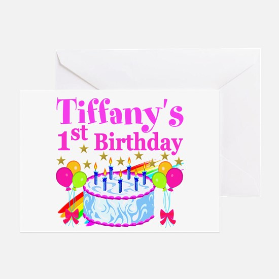 1St Birthday 1st Birthday Greeting Cards – Personalized 1st Birthday Cards