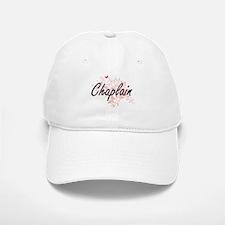 Chaplain Artistic Job Design with Butterflies Baseball Baseball Cap