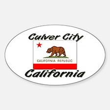 Culver City California Oval Decal