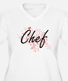 Chef Artistic Job Design with Bu Plus Size T-Shirt
