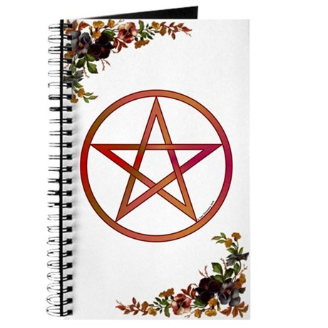 Victorian Flowers & Pentacle BoS Journal