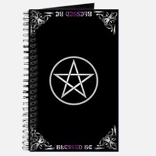 Blessed Be Pentacle Book of Shadows Journal
