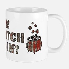 THE WITCH IS IN! Mugs