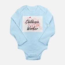 Childcare Worker Artistic Job Design wit Body Suit