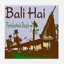Bali Hai Tile Coaster