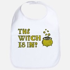 THE WITCH IS IN! Bib