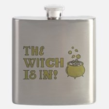 THE WITCH IS IN! Flask