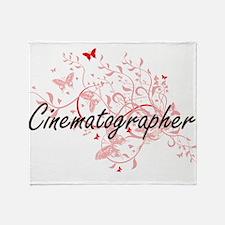Cinematographer Artistic Job Design Throw Blanket