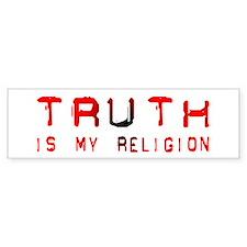 Truth Bumper Car Sticker