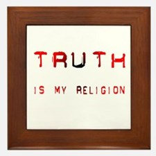 Truth Framed Tile
