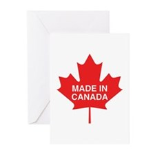Made in Canada Maple Leaf Greeting Cards (Pk of 10