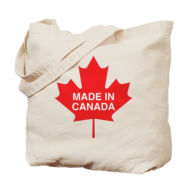 Made In Canada Maple Leaf Tote Bag By Blonde Designs