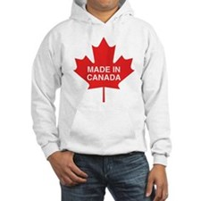 Made in Canada Maple Leaf Hoodie Sweatshirt