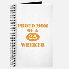 Proud Mom 25 Weeker Journal