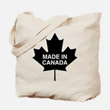 Made in Canada Maple Leaf Tote Bag