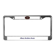 Cute Brother License Plate Frame