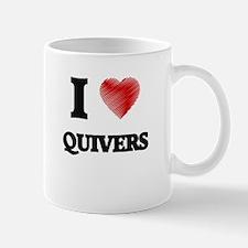 I Love Quivers Mugs