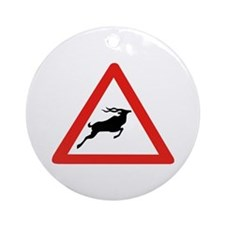 Attention Koudous, South Africa Ornament (Round)