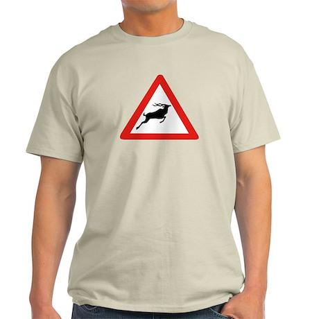 Attention Koudous, South Africa Light T-Shirt