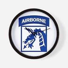 18th Army Airborne Wall Clock