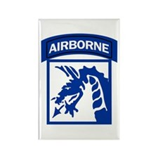 18th Army Airborne Rectangle Magnet