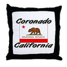 Coronado California Throw Pillow