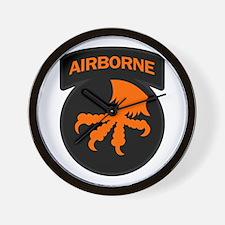 17th Army Airborne Wall Clock